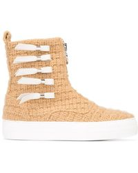 Joshua Sanders - Knitted Zip Boots - Lyst