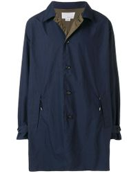 Nanamica - Single Breasted Coat - Lyst