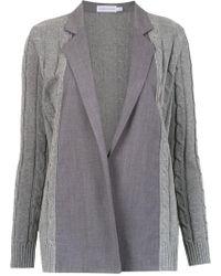 Mara Mac - Panelled Knit Cardigan - Lyst