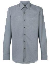 Prada - Geometric Pattern Shirt - Lyst
