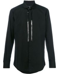 DSquared² - Sequin Embellished Shirt - Lyst
