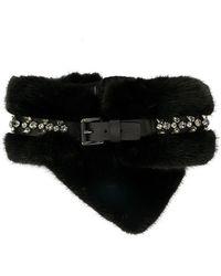 DSquared² - Crystal Embellished Collar - Lyst