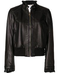 Patrizia Pepe - Frill Detail Jacket - Lyst