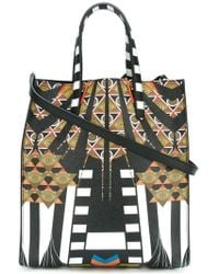 Givenchy - Medium Egyptian Art Deco Printed Tote - Lyst