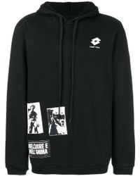 Damir Doma - X Lotto Logo Patch Hoodie - Lyst