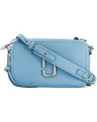 e6b09a9961b Marc Jacobs Logo Strap Snapshot Camera Bag in Brown - Lyst