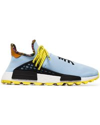 adidas Originals - X Pharrell Williams Multicoloured Human Body Nmd Sneakers - Lyst