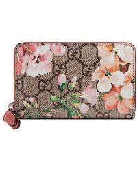 Gucci - GG Bloom Wallet - Lyst