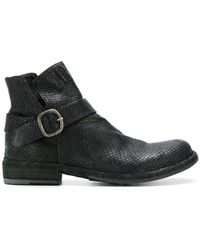 Officine Creative - Legrand Buckle Boots - Lyst