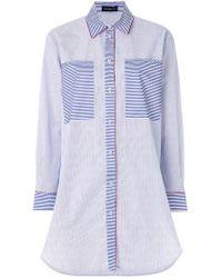 Piazza Sempione - Striped Shirt - Lyst