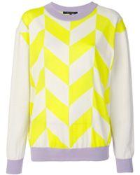 Sofie D'Hoore - Contrast Lines Sweater - Lyst