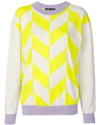 Sofie D'Hoore - Contrast Lines Sweater - Lyst