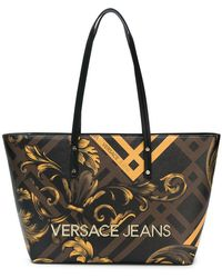 Lyst - Women s Versace Jeans Totes and shopper bags 6ad1dcc1ce0a9