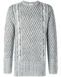 ih nom uh nit - Cable Knit Effect Sweater - Lyst