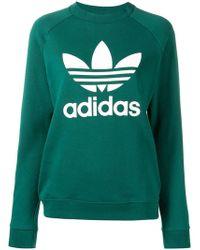 adidas - Sweatshirt mit Logo - Lyst