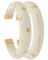 Aurelie Bidermann - Caftan Moon Bracelet Set - Lyst