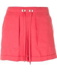 Blumarine - Drawstring Shorts - Lyst