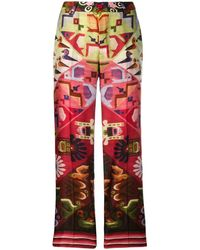 F.R.S For Restless Sleepers Aztec Printed Pants