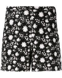 Giambattista Valli - Embroidered Shorts - Lyst
