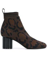 Ferragamo - Bottines chaussettes Capo - Lyst