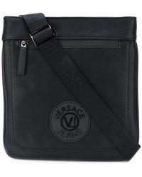 Versace Jeans - Logo Patch Shoulder Bag - Lyst