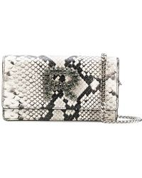 Rochas - Embellished Logo Mini Bag - Lyst