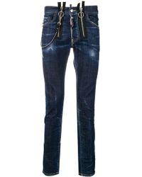 DSquared² - Skater Skinny Jeans - Lyst