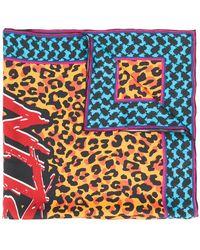 Lala Berlin - Foulard Con Stampa Leopardata - Lyst
