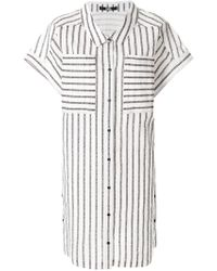 Karl Lagerfeld - Captain Karl Shirt Dress - Lyst