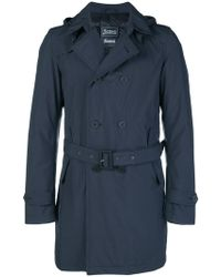 Herno - Fitted Tailored Coat - Lyst