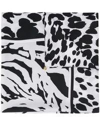 Class Roberto Cavalli - Leopard Print Scarf - Lyst