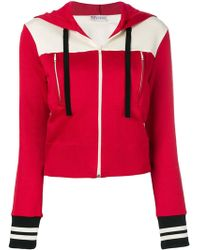 RED Valentino - Two-tone Hooded Jacket - Lyst