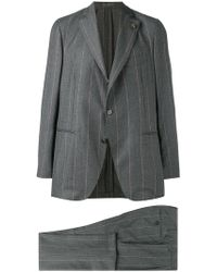 Gabriele Pasini - Printed Fitted Suit - Lyst