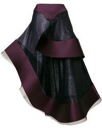Esteban Cortazar - Asymmetric Flamenco Skirt - Lyst