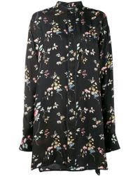 Haider Ackermann - Floral Long-sleeve Shirt - Lyst