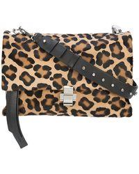 N°21 - Leopard Print Shoulder Bag - Lyst