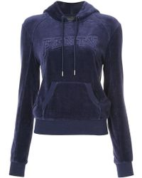 PUMA - Velour Hooded Pullover - Lyst