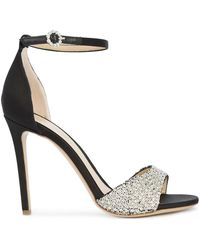 Monique Lhuillier - Sequinned Embellished Sandals - Lyst