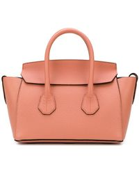 Bally - Textured Leather Tote - Lyst