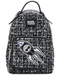 Karl Lagerfeld - K/space Mini Backpack - Lyst