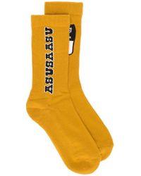 Reebok - Logo Patch Socks - Lyst