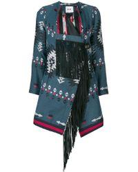 Bazar Deluxe - Fringed Aztec Jacket - Lyst