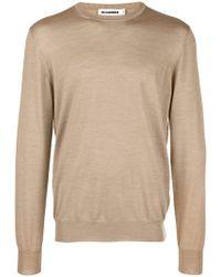 Jil Sander - Crew Neck Sweater - Lyst