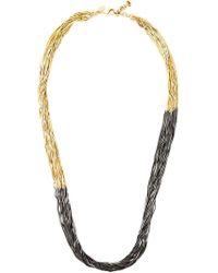 Iosselliani - 'black Hole Sun' Long Necklace - Lyst