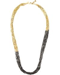 Iosselliani - 'black Hole Sun' Long Necklace - Lyst