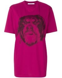 Givenchy - Rottweiler T-shirt - Lyst