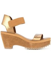 Pedro Garcia - Francesca Wedge Sandals - Lyst