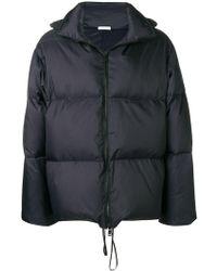 Jil Sander - Hooded Padded Short Coat - Lyst