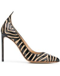 Francesco Russo - Zebra Pumps - Lyst