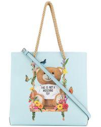 Moschino - Teddy Shopper Bag - Lyst